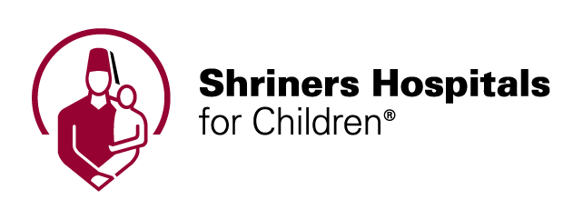 Shriners Hospitals red and black color logo on the Archangel Law Group website
